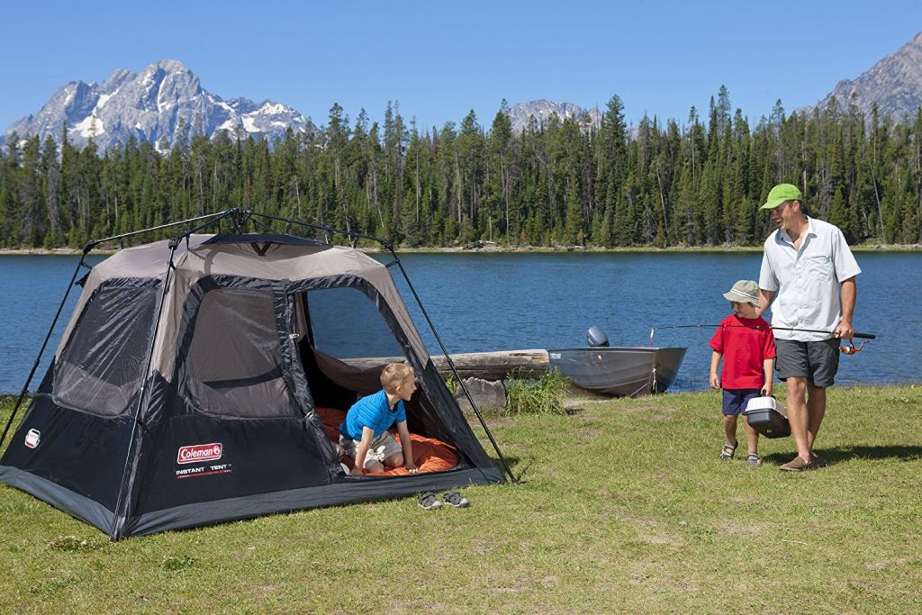 Best 4 person tent: Coleman 4 Person Instant Tent Review