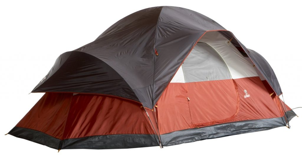 Coleman 8 Person Red Canyon Tent Review