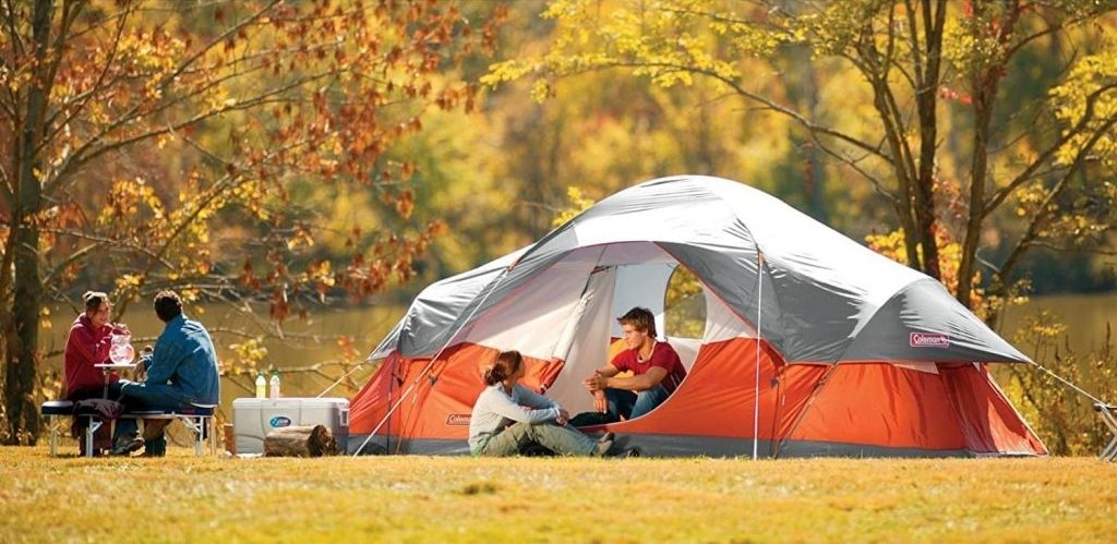 Best 8 person tent: Coleman 8 Person Red Canyon Tent