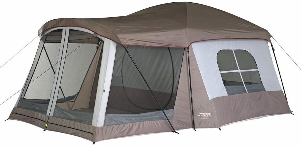 Wenzel 8 Person Klondike Tent - Perfect for Camping with Friends and Family