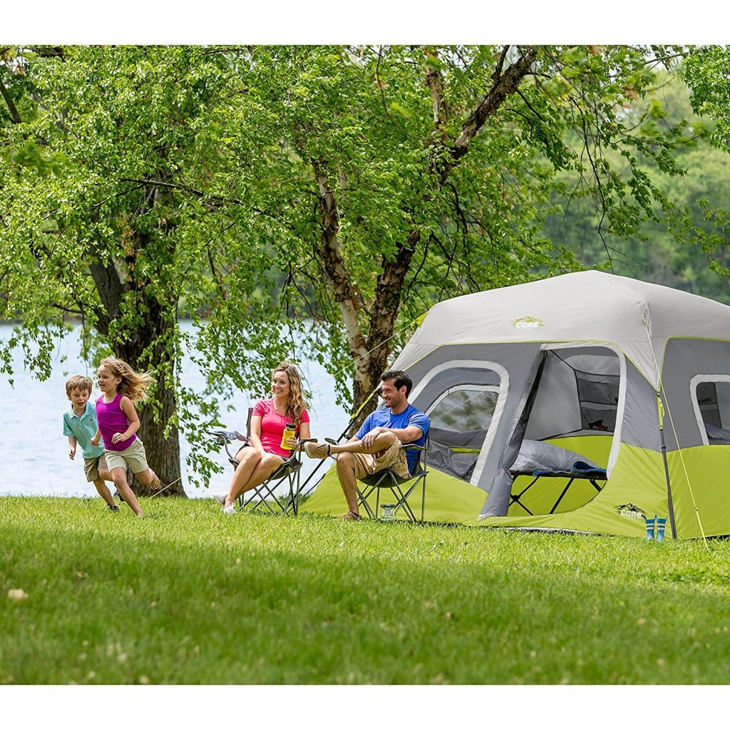 CORE 6 Person Instant Cabin Tent Among Nature