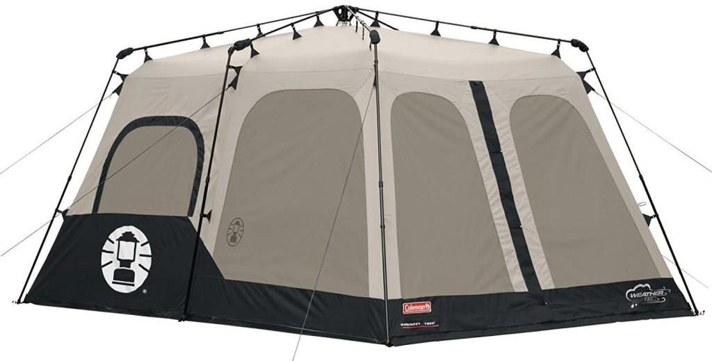 Coleman 2000018295 8-Person Instant Tent  sc 1 st  Tents Zone & Coleman 2000018295 8 Person Instant Tent Review - Tents Zone
