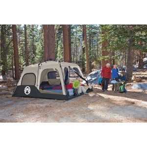 Coleman 2000018295 8-Person Instant Tent In Forest