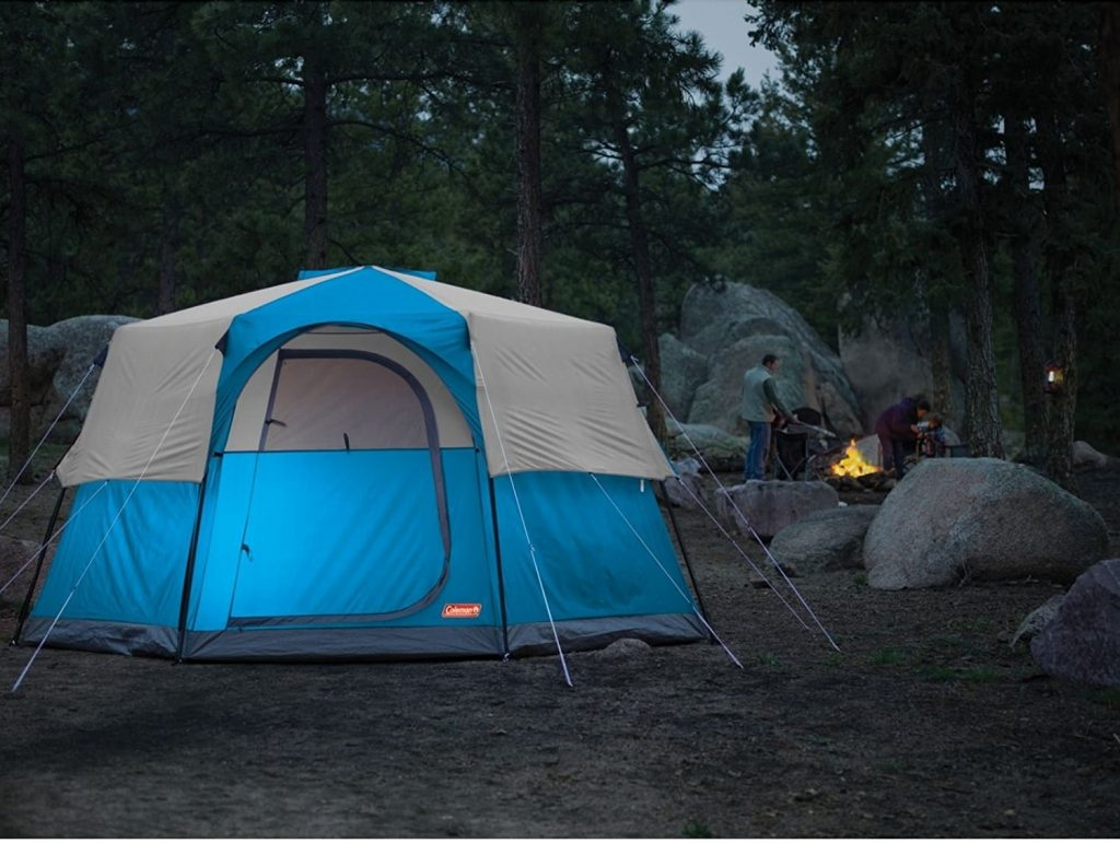 Coleman Octagon 98 Tent, 13x13 Feet Review | Best Family Tent