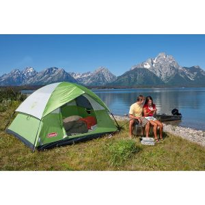 Coleman Sundome 4 Person Tent Camping