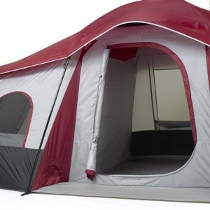 Ozark Trail 10 Person 3 Room XL Family Cabin Tent Entrance | Best Family Tent & Ozark Trail 10 Person 3 Room XL Family Tent Review - Best Family Tent