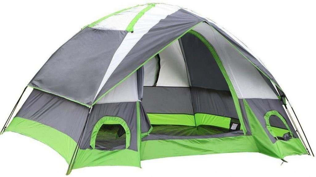 SEMOO Water Resistant 4 Person Camping Tent Review