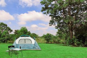 Timber Ridge Large Family Tent Among Nature