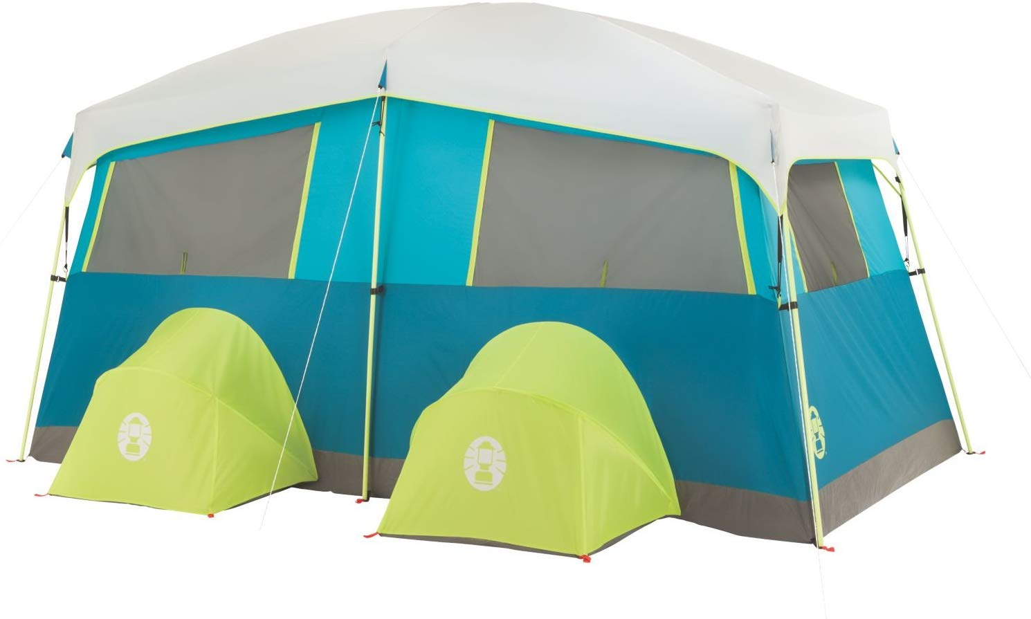 Coleman 8 Person Tenaya Lake Lighted Fast Pitch Cabin Tent
